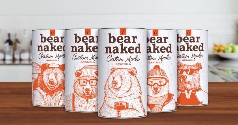 Customize Your Granola with Bear Naked
