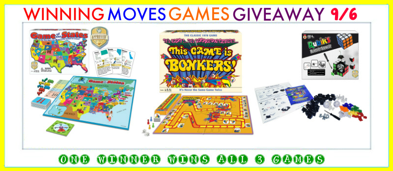 Win 3 Winning Moves Games at the Glue Sticks & Crayons Giveaway Hop 9/6